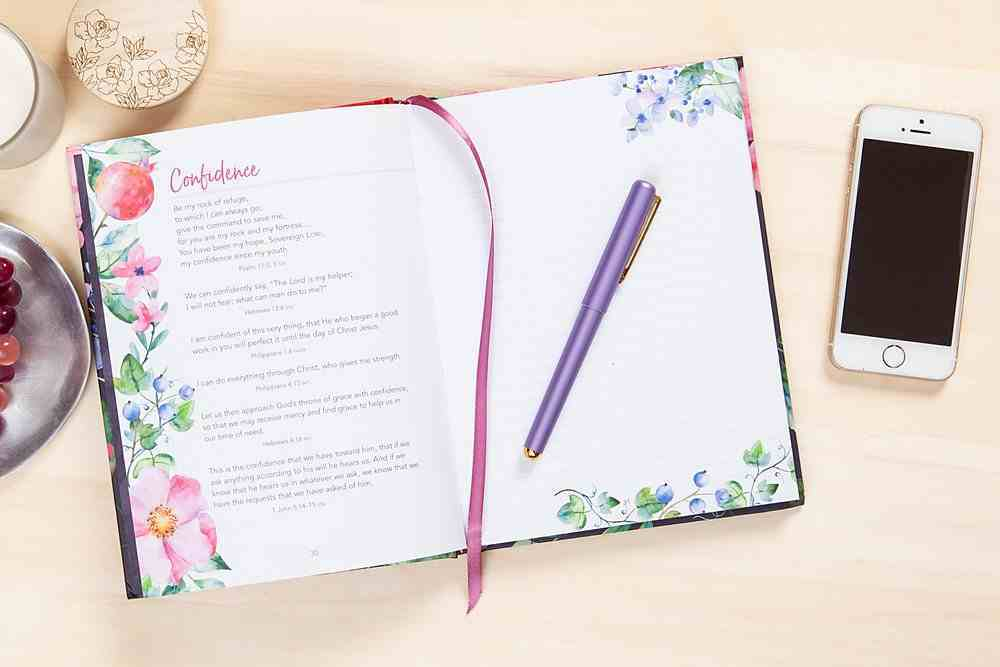 Journal: Delight Yourself in the Lord, Floral Hardback