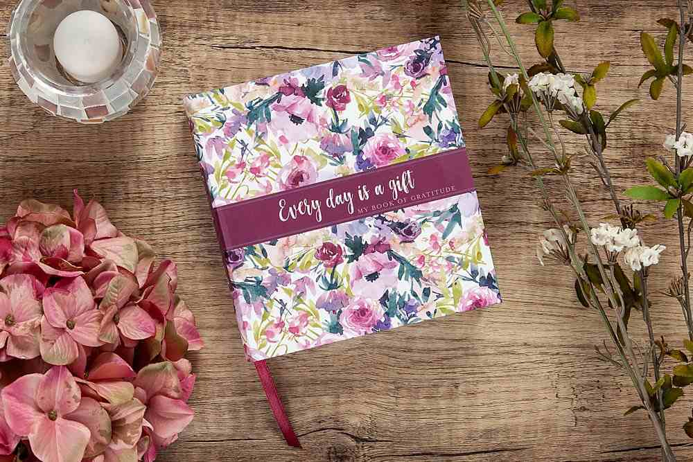 Guided Journal: Every Day is a Gift- My Book of Gratitude Flexi Back