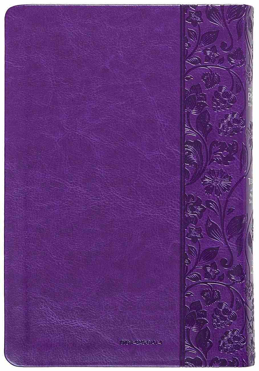 TPT New Testament Violet (Black Letter Edition) (With Psalms, Proverbs And The Song Of Songs) Imitation Leather