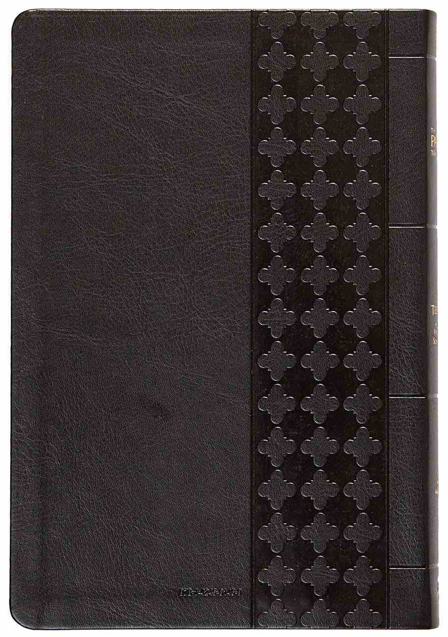 TPT New Testament Large Print Black (Black Letter Edition) (With Psalms, Proverbs And The Song Of Songs) Imitation Leather