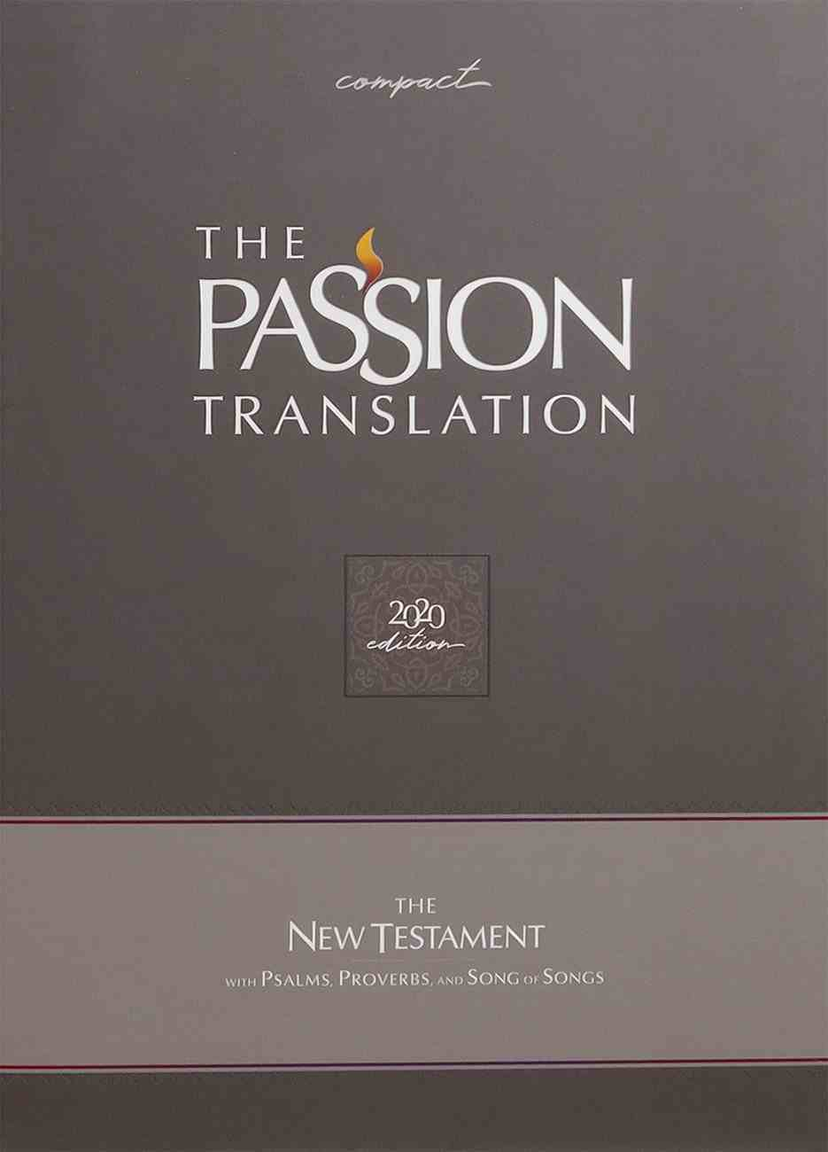TPT New Testament Compact Violet (Black Letter Edition) (With Psalms, Proverbs And The Song Of Songs) Imitation Leather