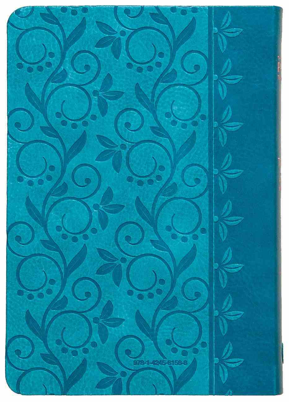 TPT New Testament Compact Teal (Black Letter Edition) (With Psalms, Proverbs And The Song Of Songs) Imitation Leather