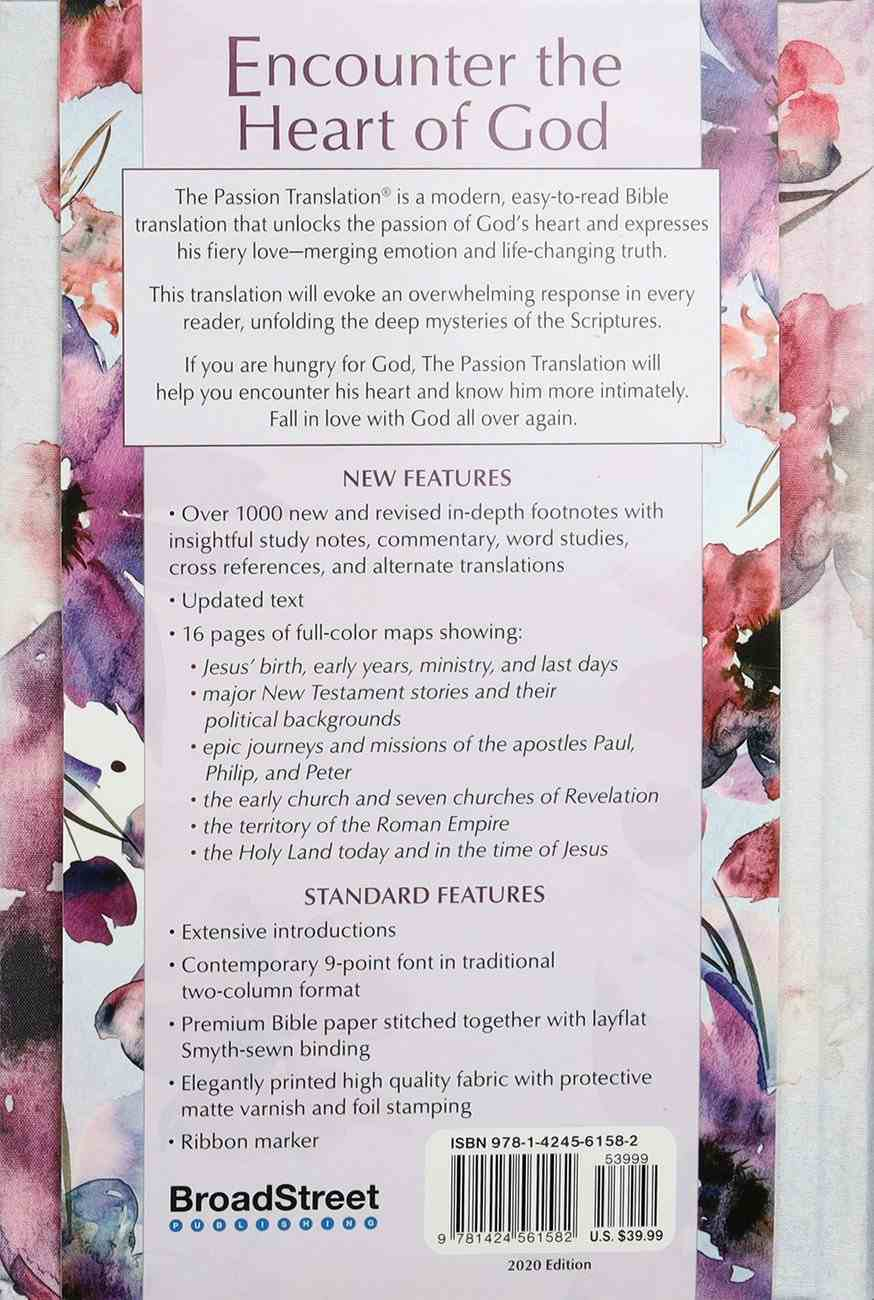 TPT New Testament Passion in Plum (Black Letter Edition) (With Psalms, Proverbs And The Song Of Songs) Fabric Over Hardback