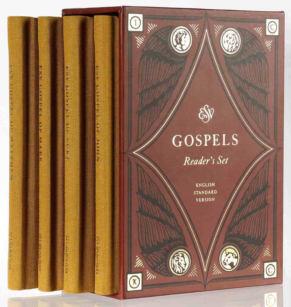 ESV Gospels Reader's Set (Black Letter Edition) Hardback