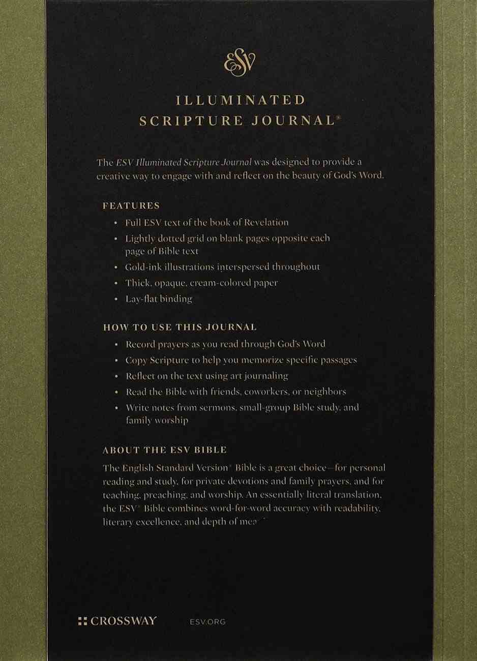 ESV Illuminated Scripture Journal Revelation (Black Letter Edition) Paperback