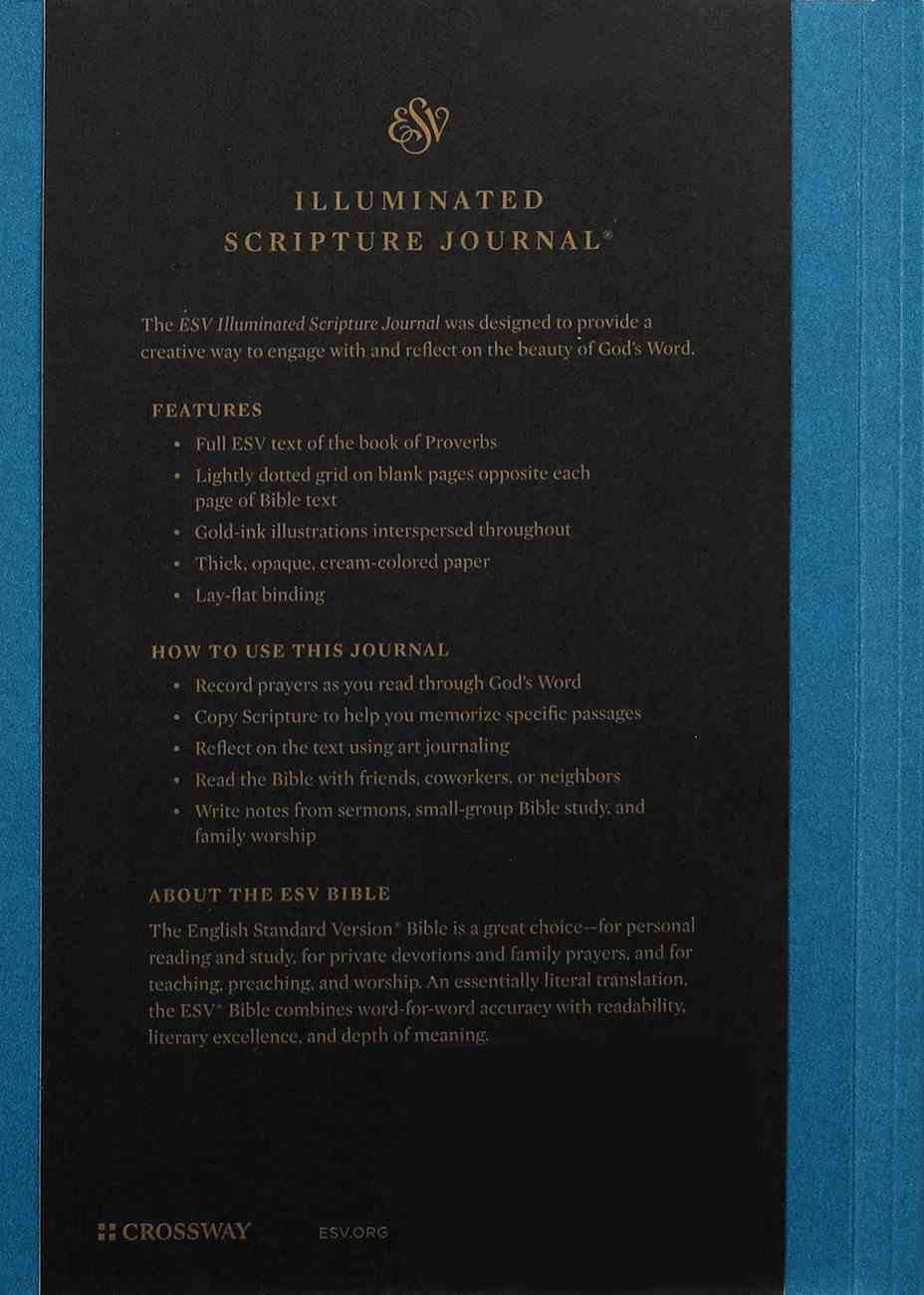 ESV Illuminated Scripture Journal Proverbs (Black Letter Edition) Paperback