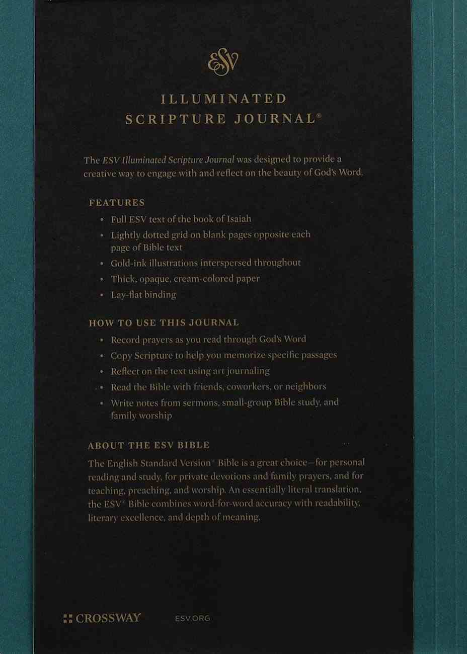 ESV Illuminated Scripture Journal Isaiah (Black Letter Edition) Paperback
