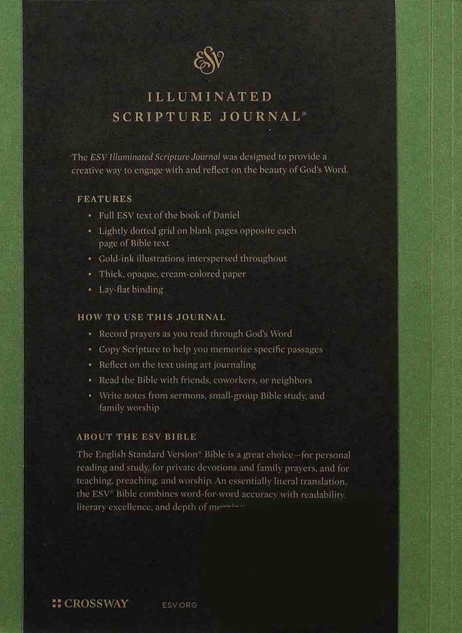 ESV Illuminated Scripture Journal Daniel (Black Letter Edition) Paperback