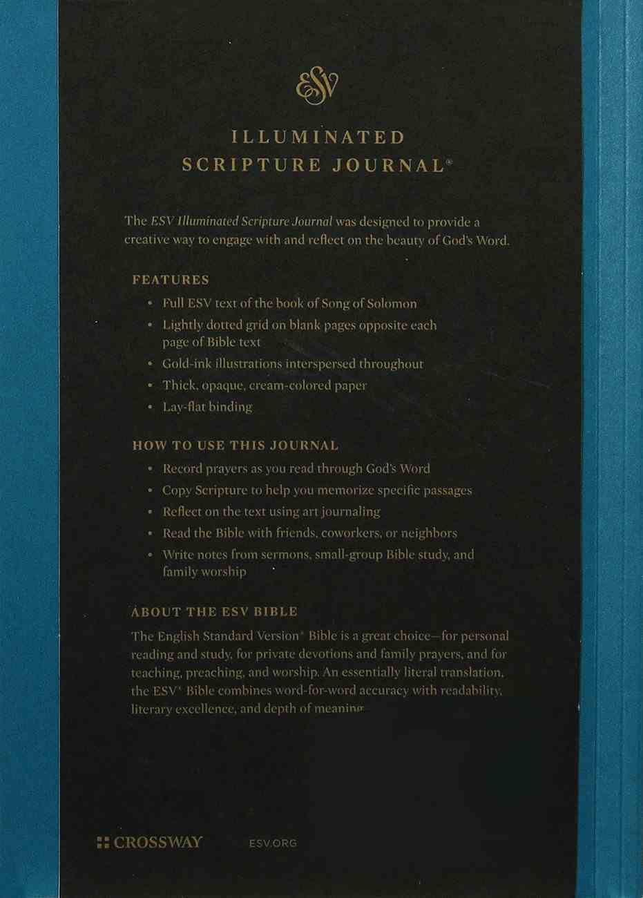 ESV Illuminated Scripture Journal Song of Solomon (Black Letter Edition) Paperback