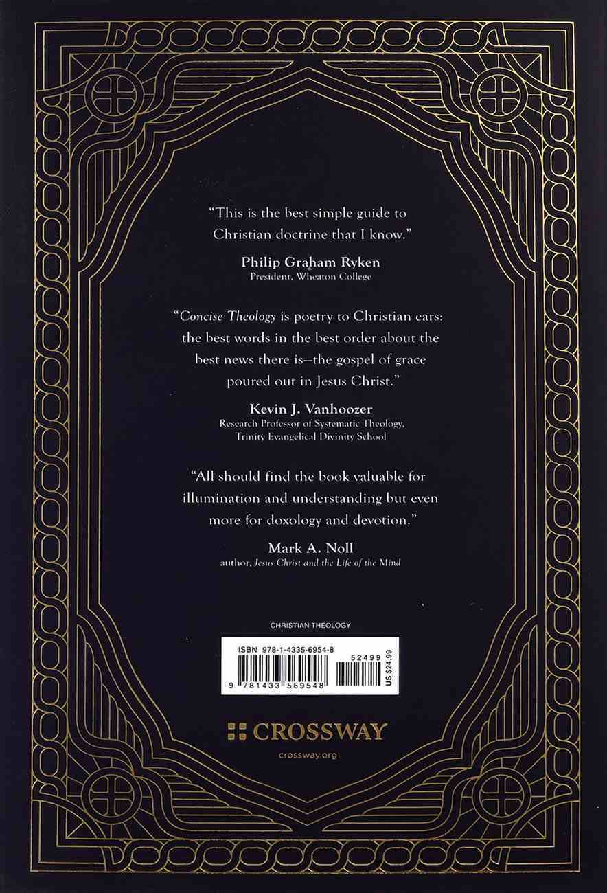 Concise Theology (Gift Edition) Hardback
