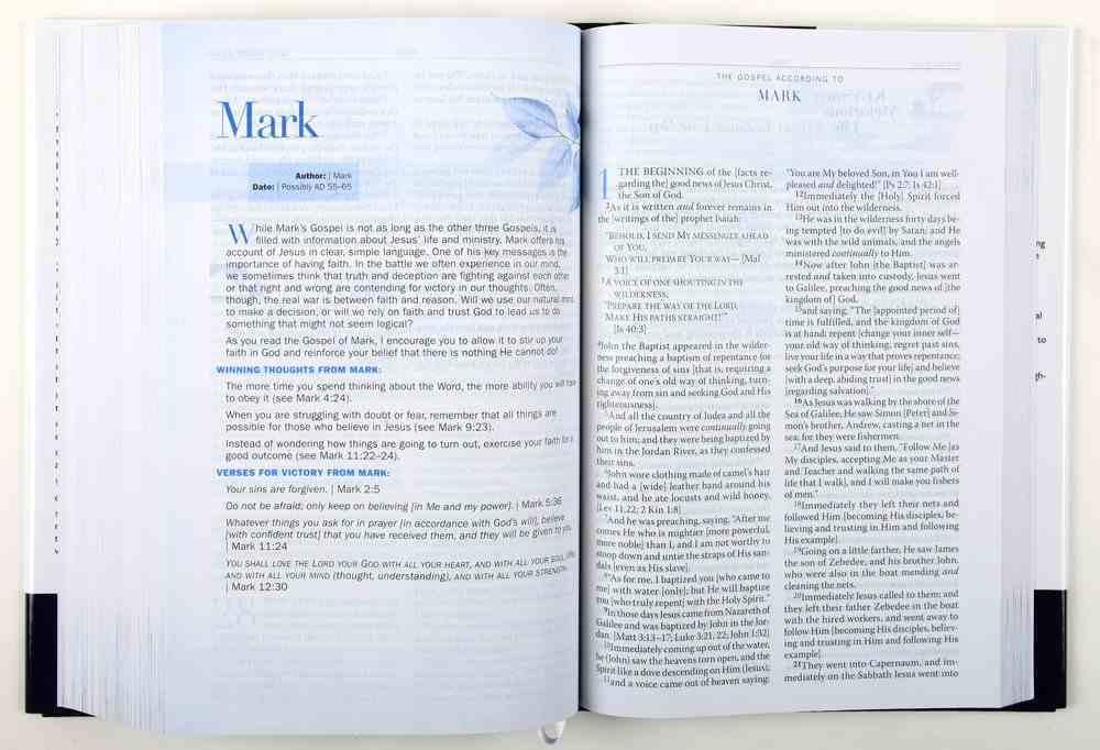 Amplified Battlefield of the Mind Bible Hardback