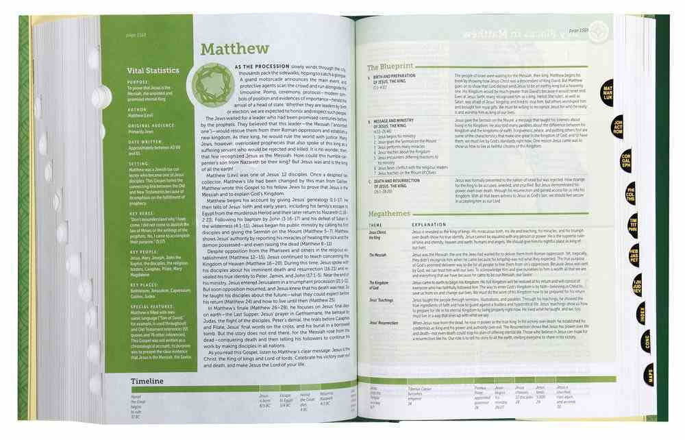 NLT Life Application Study Bible 3rd Edition Indexed (Black Letter Edition) Hardback