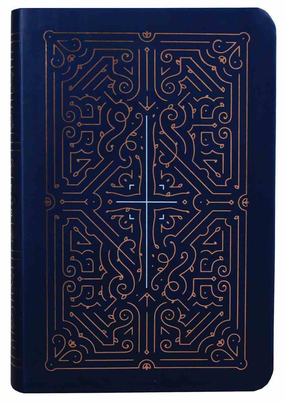 NLT Filament Bible Indexed Blue (Black Letter Edition) (The Print+digital Bible) Imitation Leather