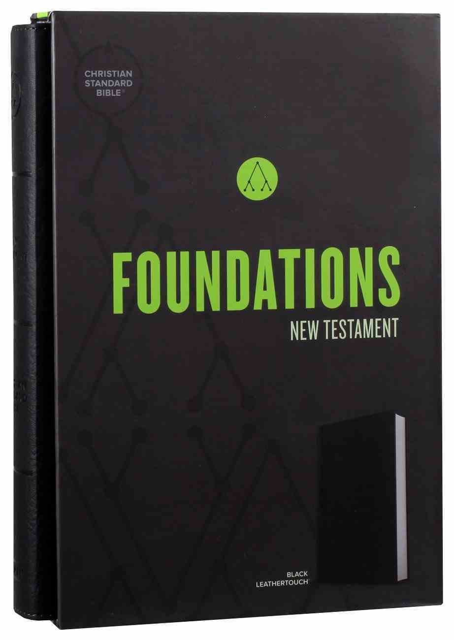 CSB Foundations New Testament Black (Black Letter Edition) Imitation Leather