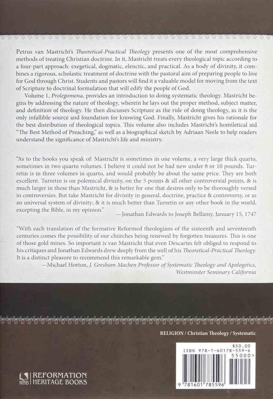Prolegomena (#01 in Theoretical & Practical Theology Series) Hardback
