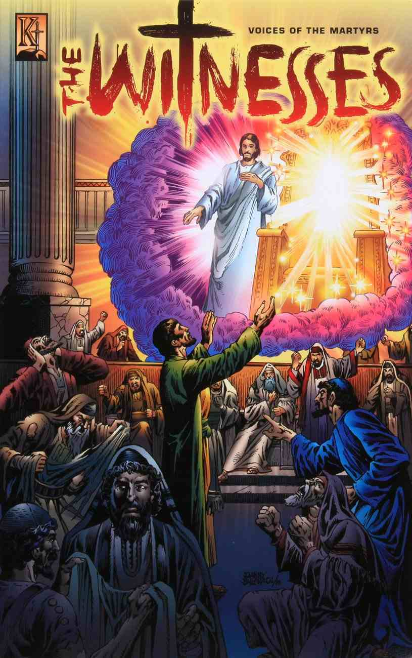 The Witnesses (Martyrs of the Early Church) (Kingstone Graphic Novel Series) Paperback