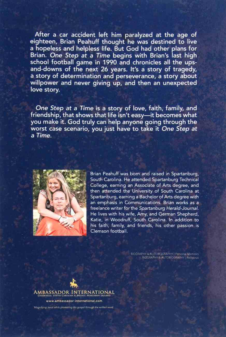 One Step At a Time Paperback