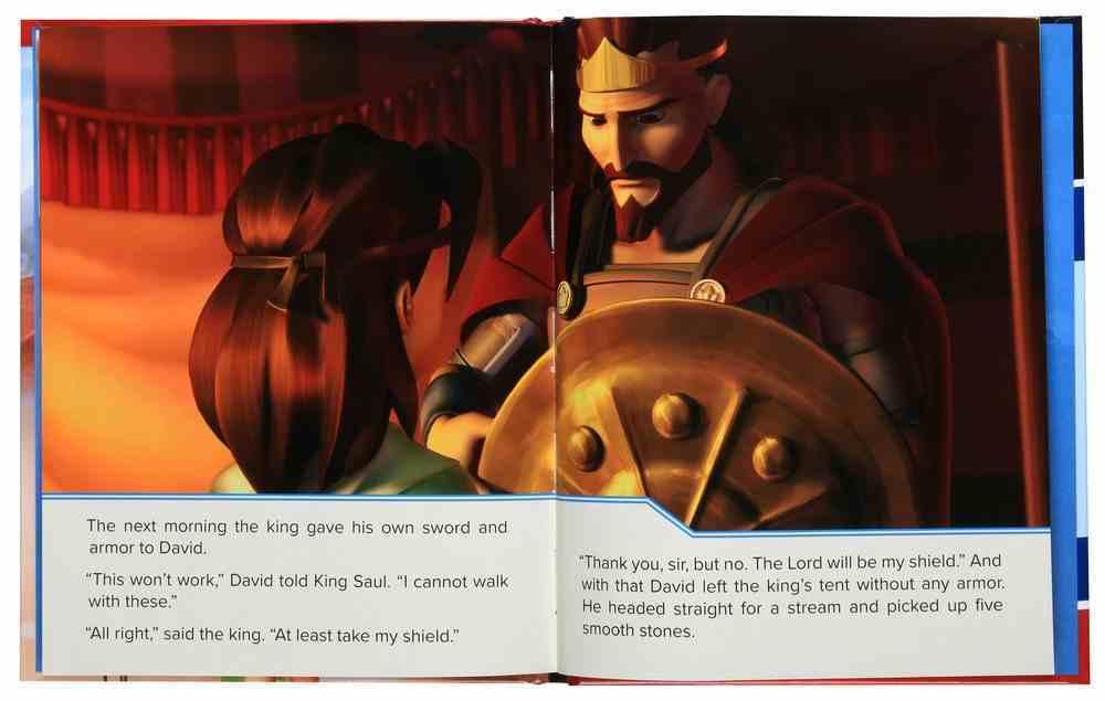 A Giant Adventure: David and Goliath (Superbook Series) Hardback