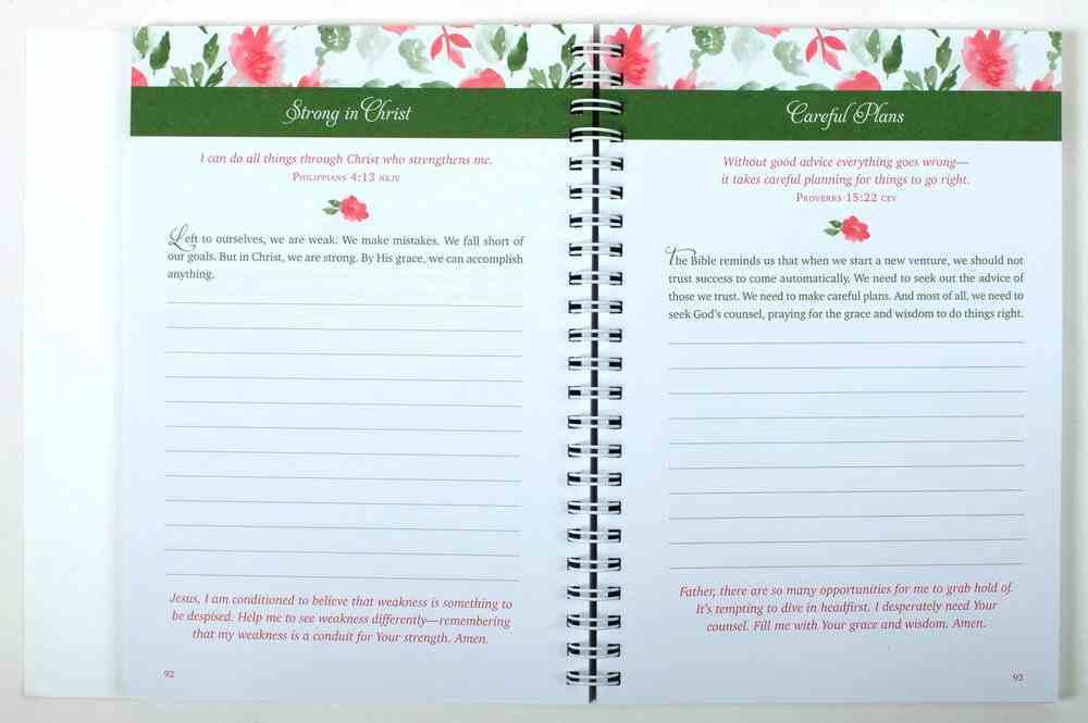 Choose Grace: 3-Minute Devotions For Women - a Journal Spiral