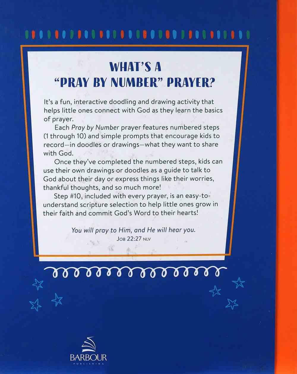 Pray By Number: A Doodle & Draw Prayer Primer For Kids Paperback