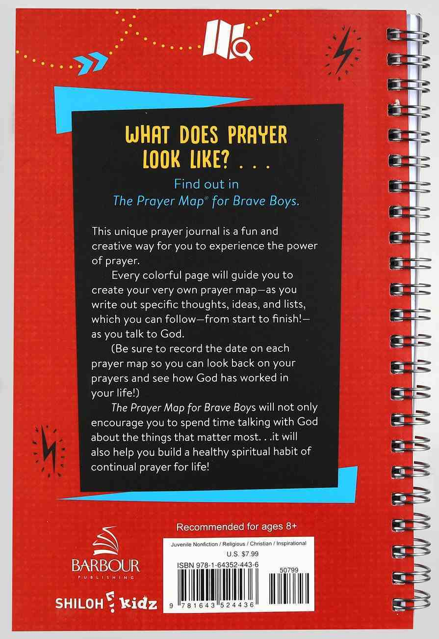 Brbo: The Prayer Map For Brave Boys: A Creative Journal Spiral