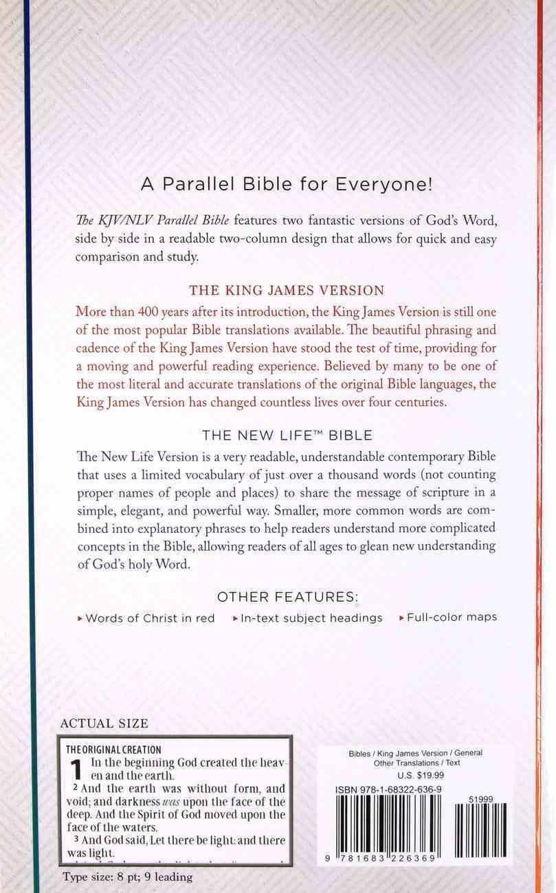 The KJV Nlv Parallel Bible Paperback