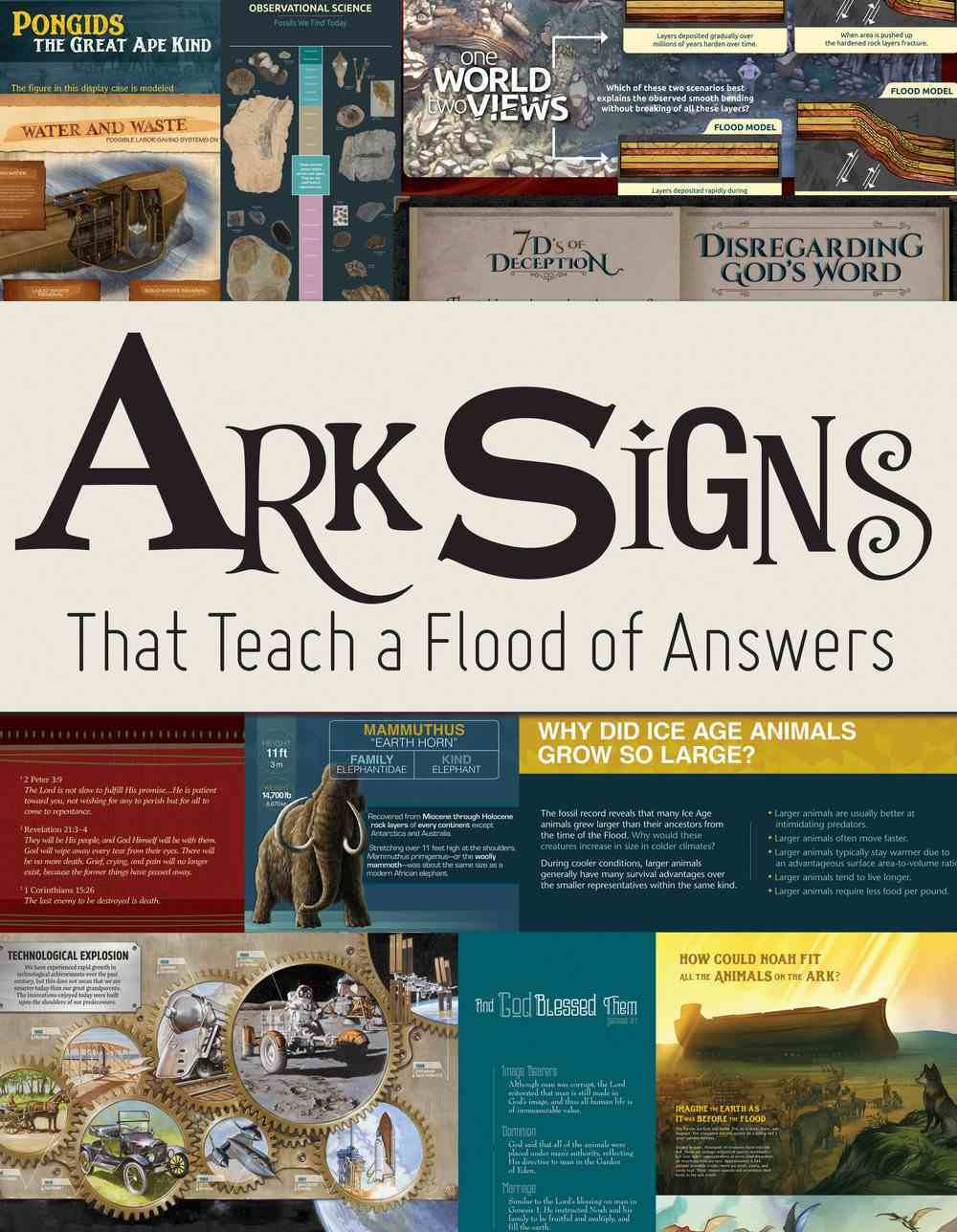 Ark Signs: That Teach a Flood of Answers Paperback