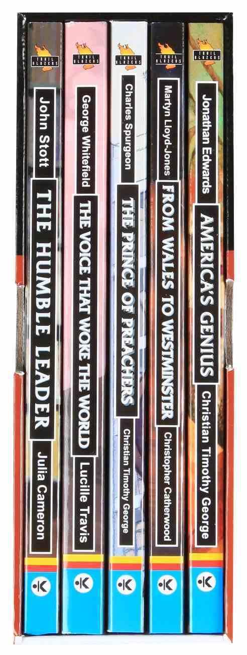 Preachers & Teachers (Box Set #03) (Trail Blazers Series) Pack