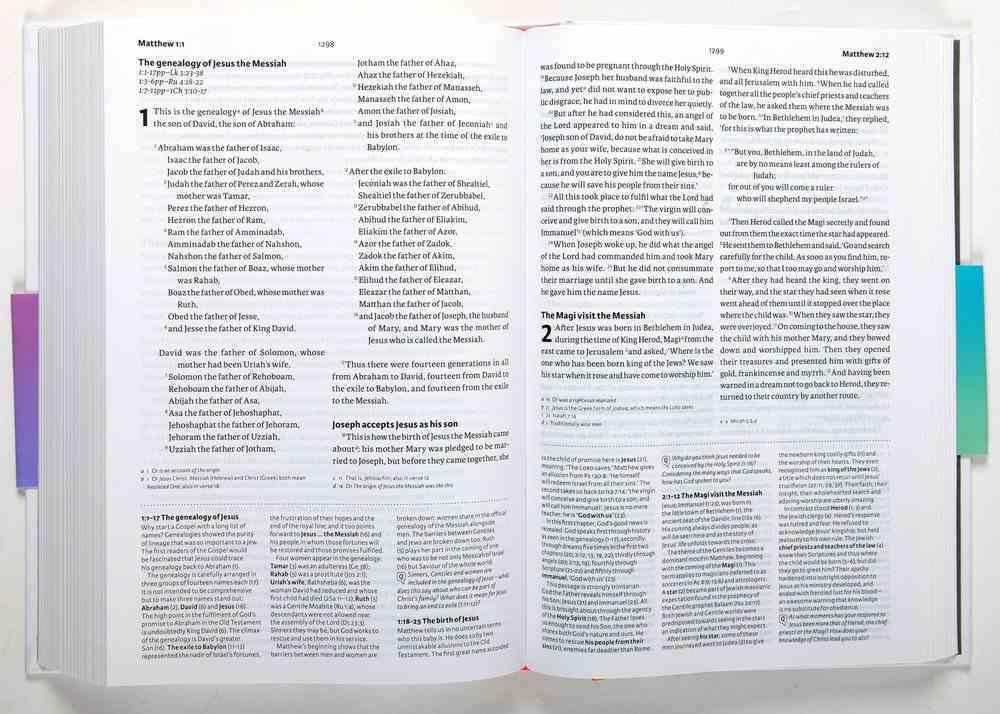 NIV Bible Speaks Today Study Bible (Bible Speaks Today Series) Hardback