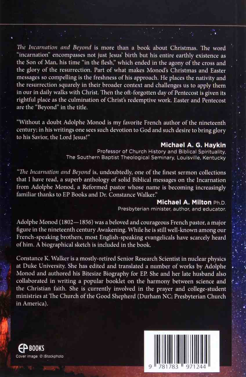 The Incarnation and Beyond Paperback
