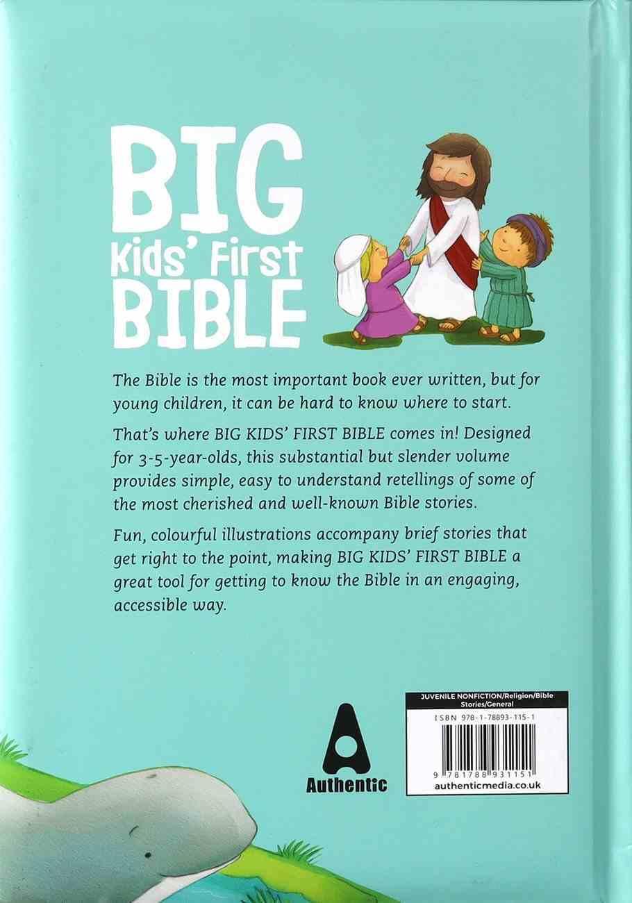 Big Kids' First Bible Padded Hardback