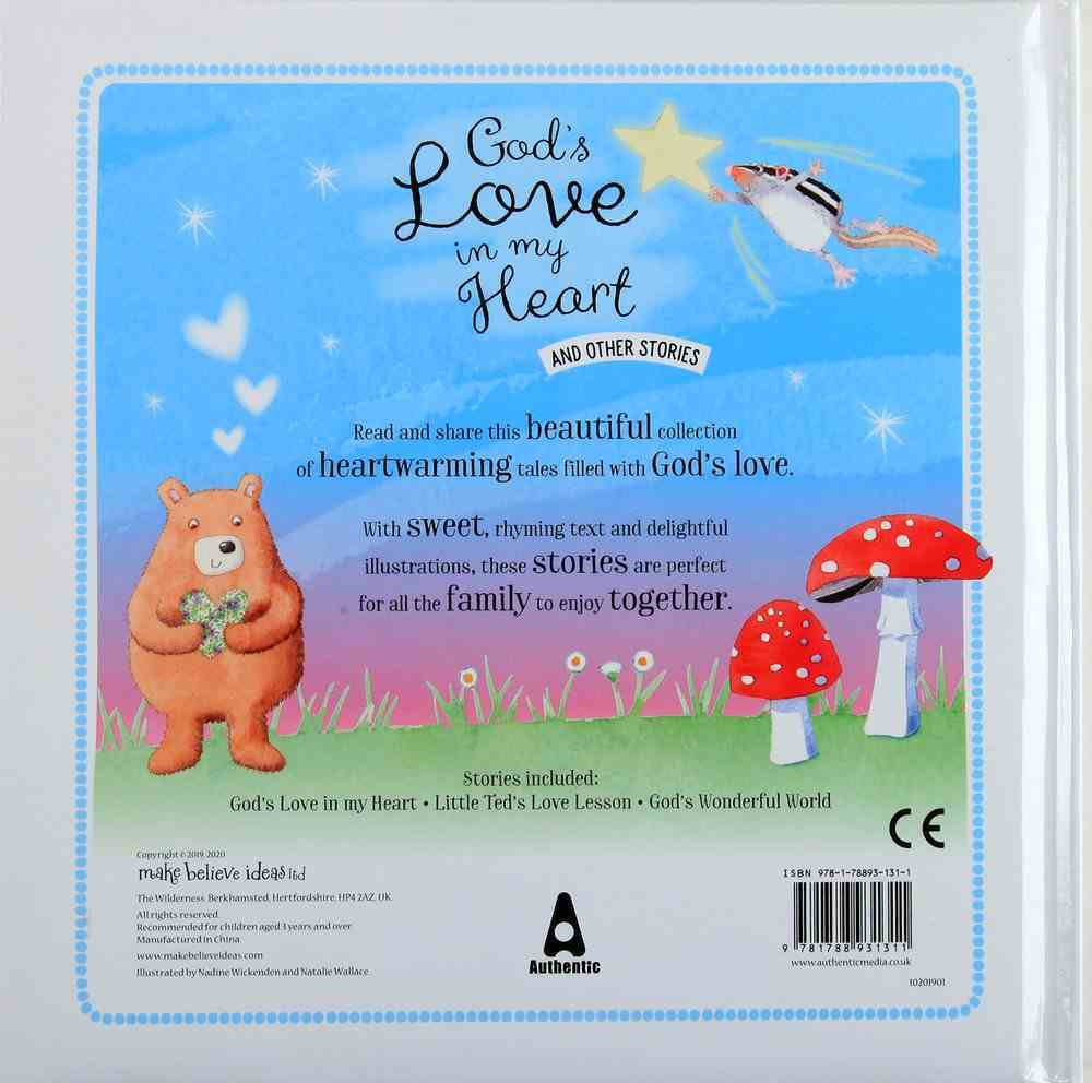 God's Love in My Heart and Other Stories Padded Hardback