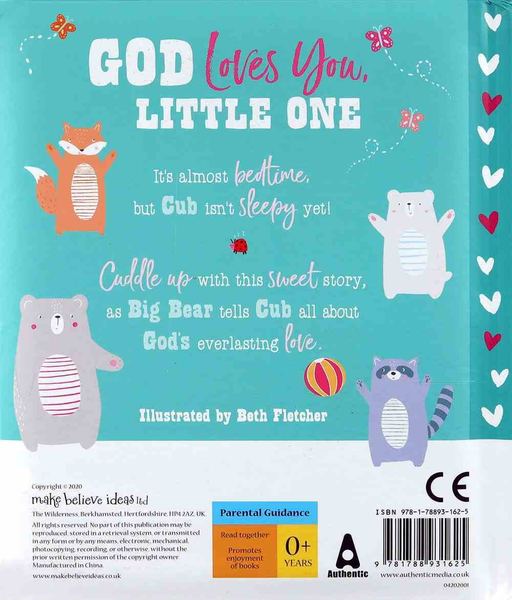 God Loves You, Little One Padded Board Book