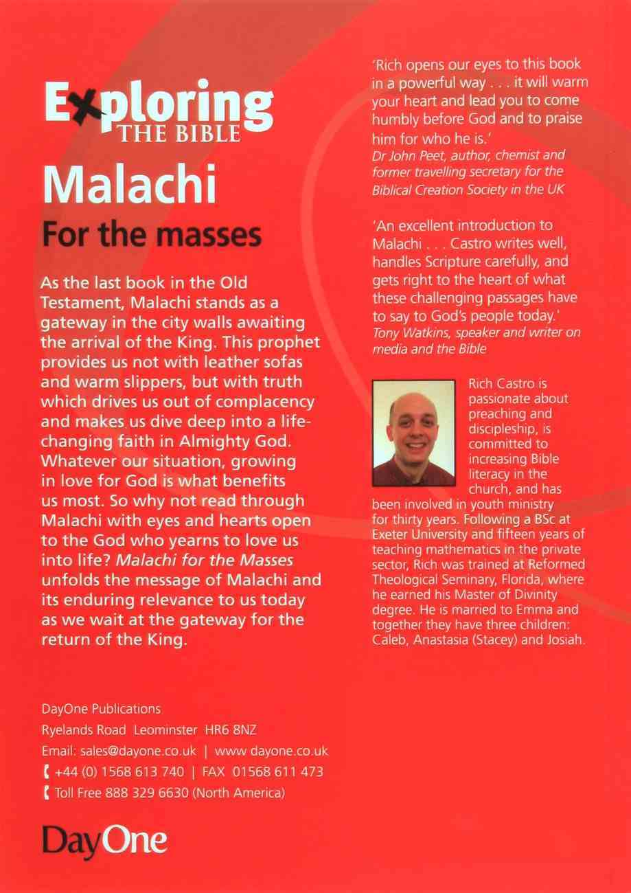 Malachi For the Masses (Exploring The Bible Series) Paperback