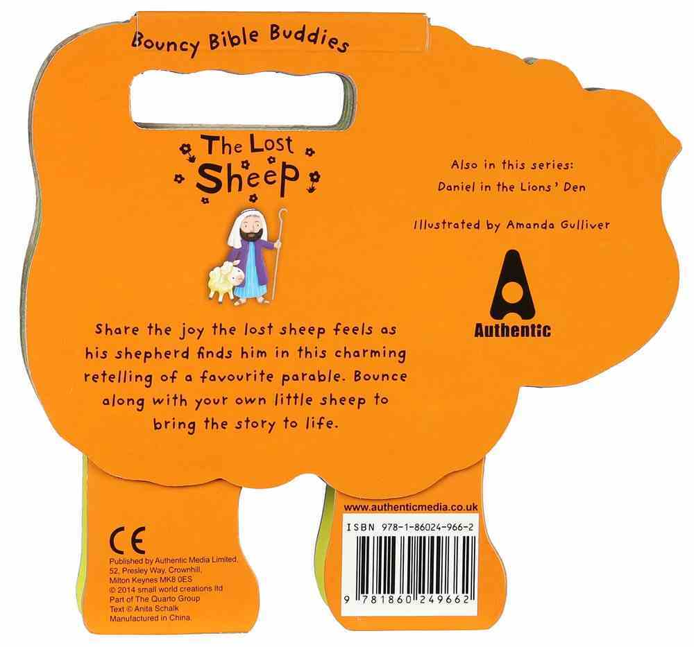 The Lost Sheep (Bouncy Bible Buddies Series) Board Book
