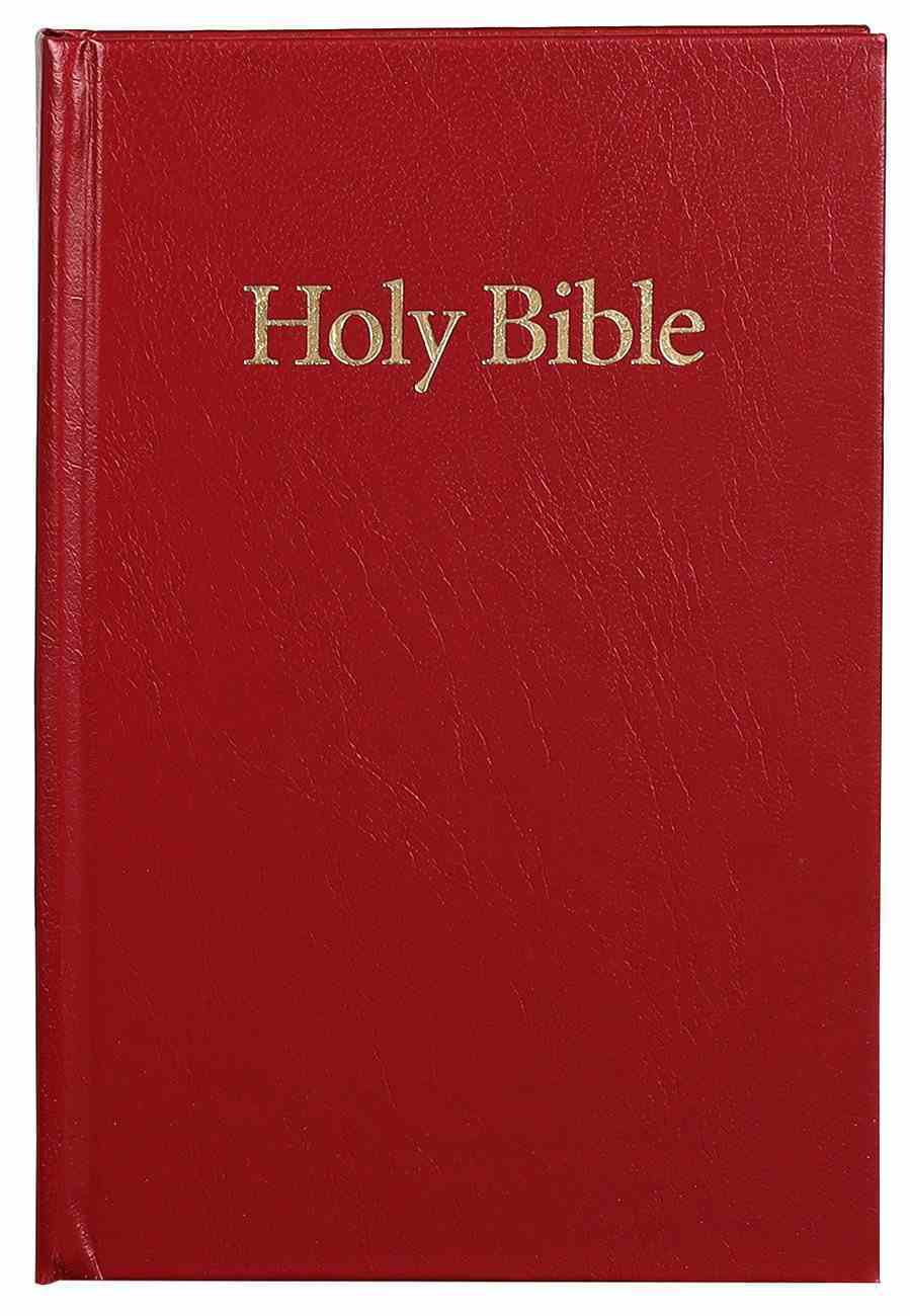 KJV Classic Reference Holy Bible Red (Black Letter Edition) Hardback
