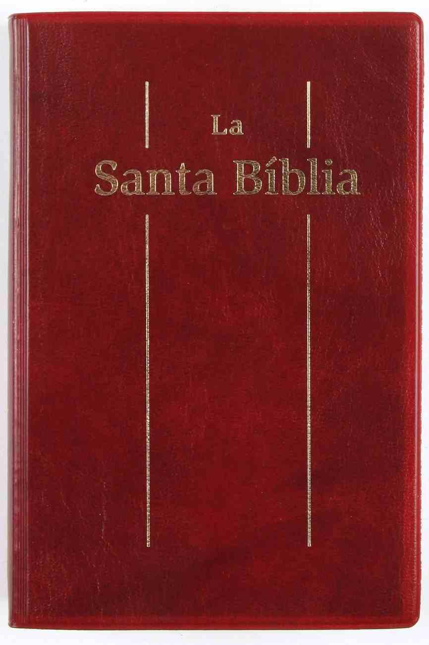 Catalan Bible Burgundy (Black Letter Edition) (For Spain France Andorra) Vinyl