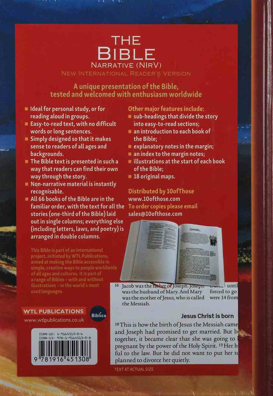NIRV Narrative Bible Flexi Back