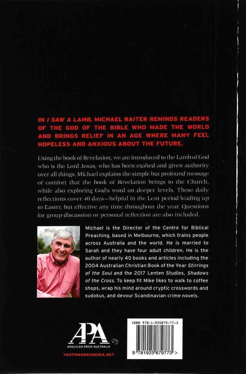 2021 Lenten Study: I Saw a Lamb - the Cross in Revelation Paperback