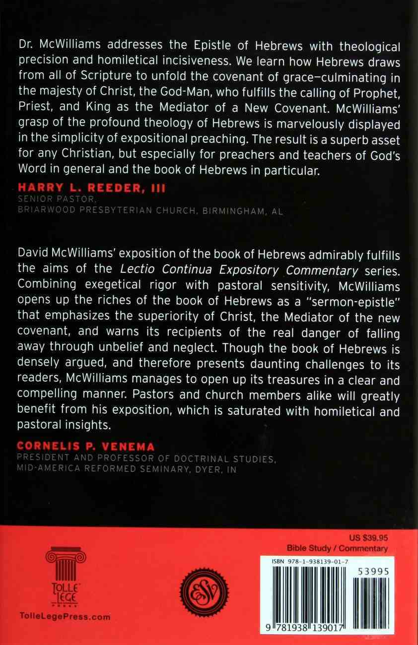 Hebrews (Lectio Continua Expository Commentary On The New Testament Series) Hardback