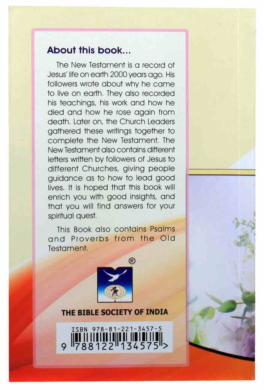 Hindi Ov New Testament With Psalms and Proverbs Paperback