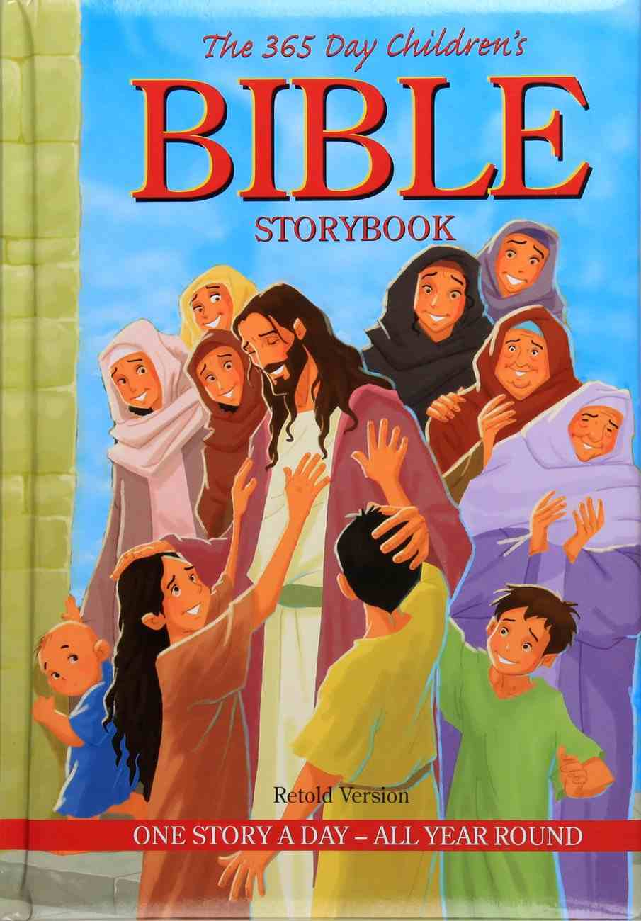 The 365 Day Children's Bible Storybook Padded Hardback