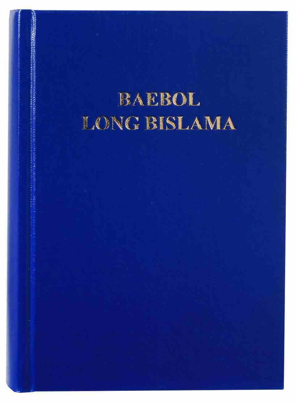 Bislama Bible Hardback
