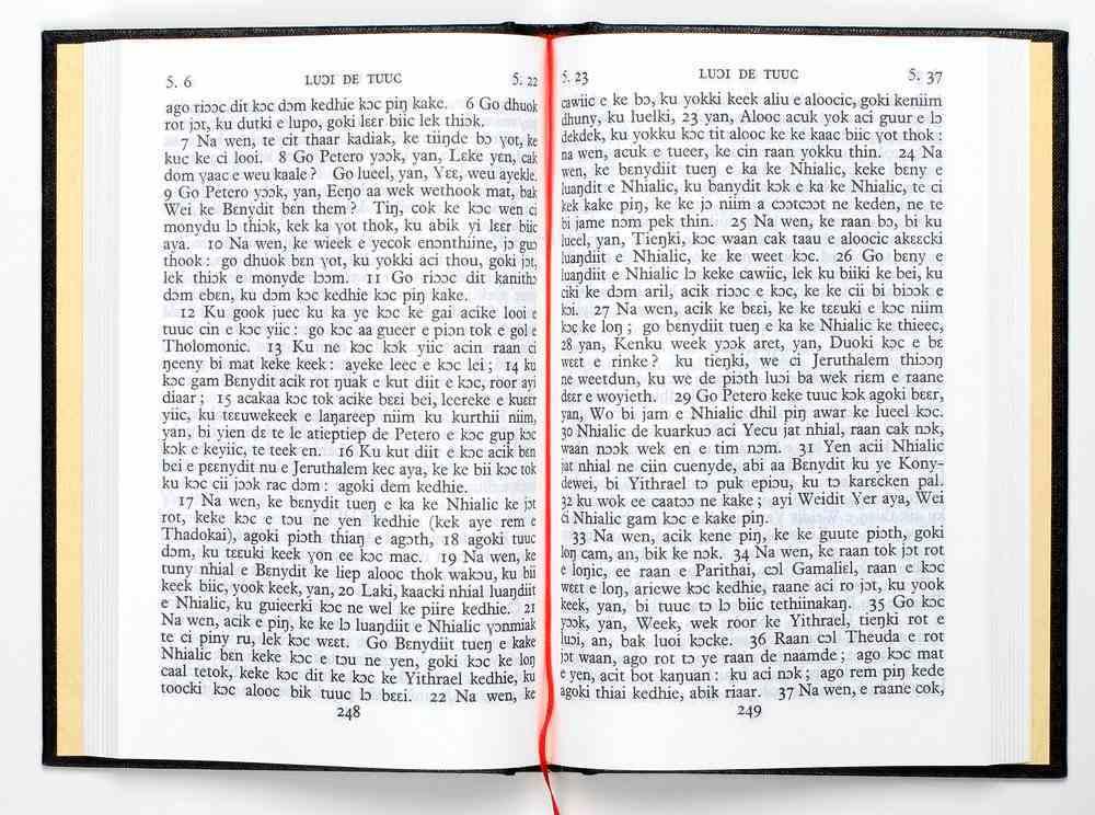 Dinka Padan New Testament (African) Hardback