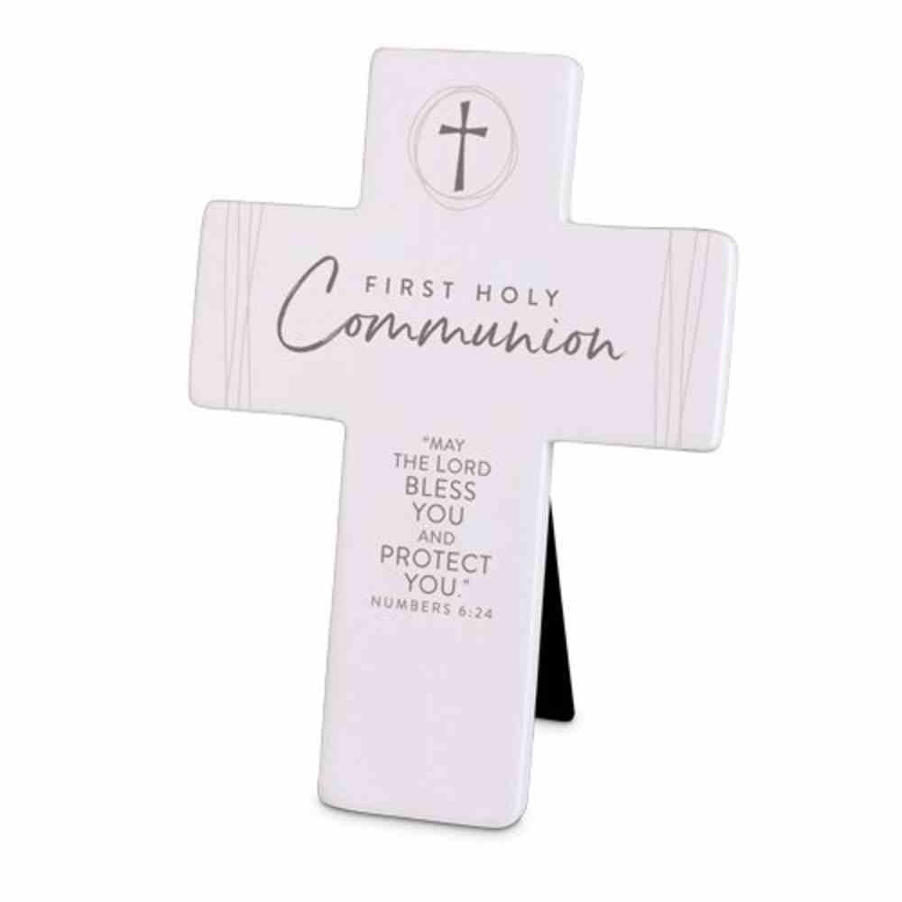 Cross Precious Occasions: First Holy Communion, Cast Stone (Numbers 6:24) Homeware