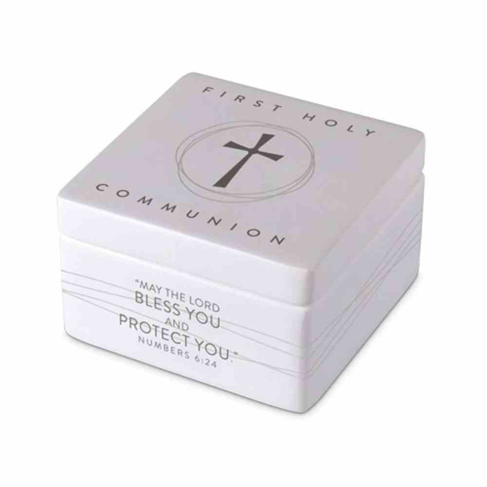 Keepsake Box Precious Occasions: First Holy Communion, (Numbers 6:24) Homeware