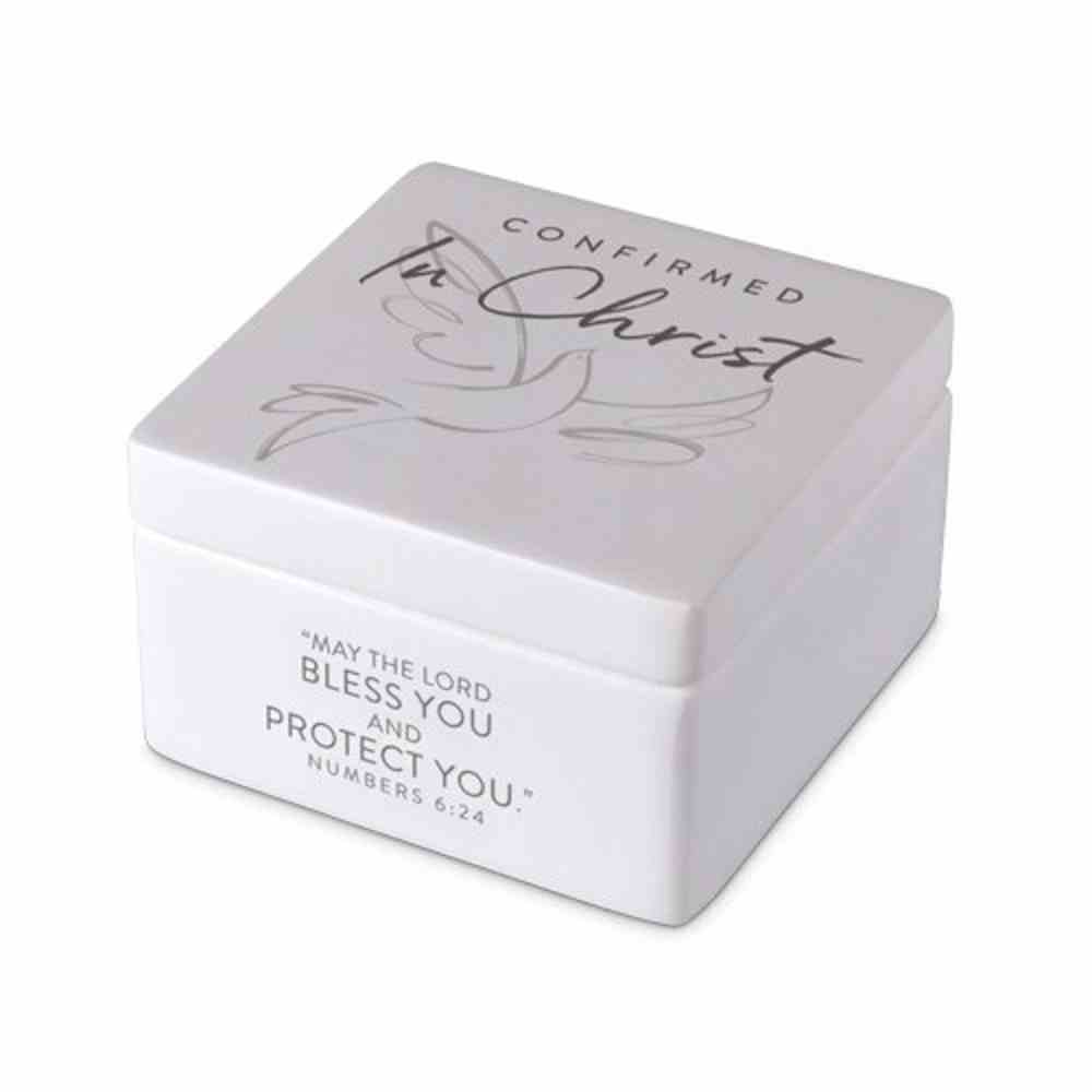 Keepsake Box Precious Occasions: Confirmed in Christ, Cast Stone (Number 6:24) Homeware