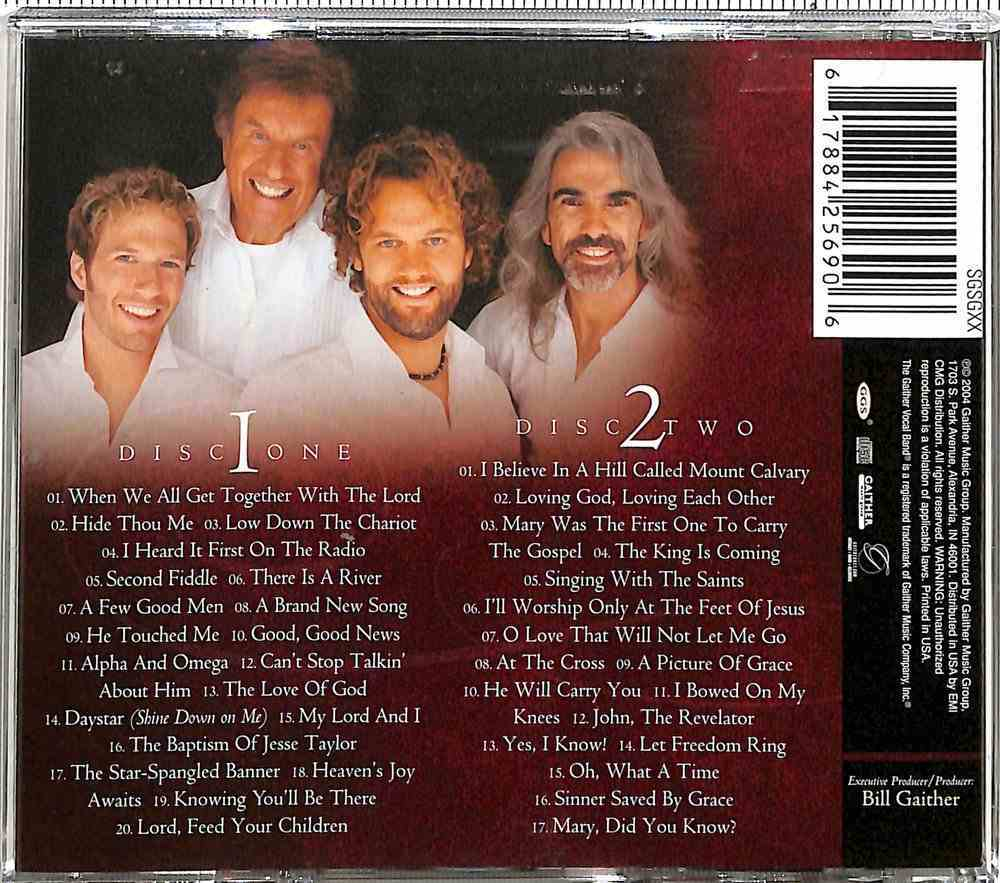The Best of the Gaither Vocal Band (2 Cds) CD