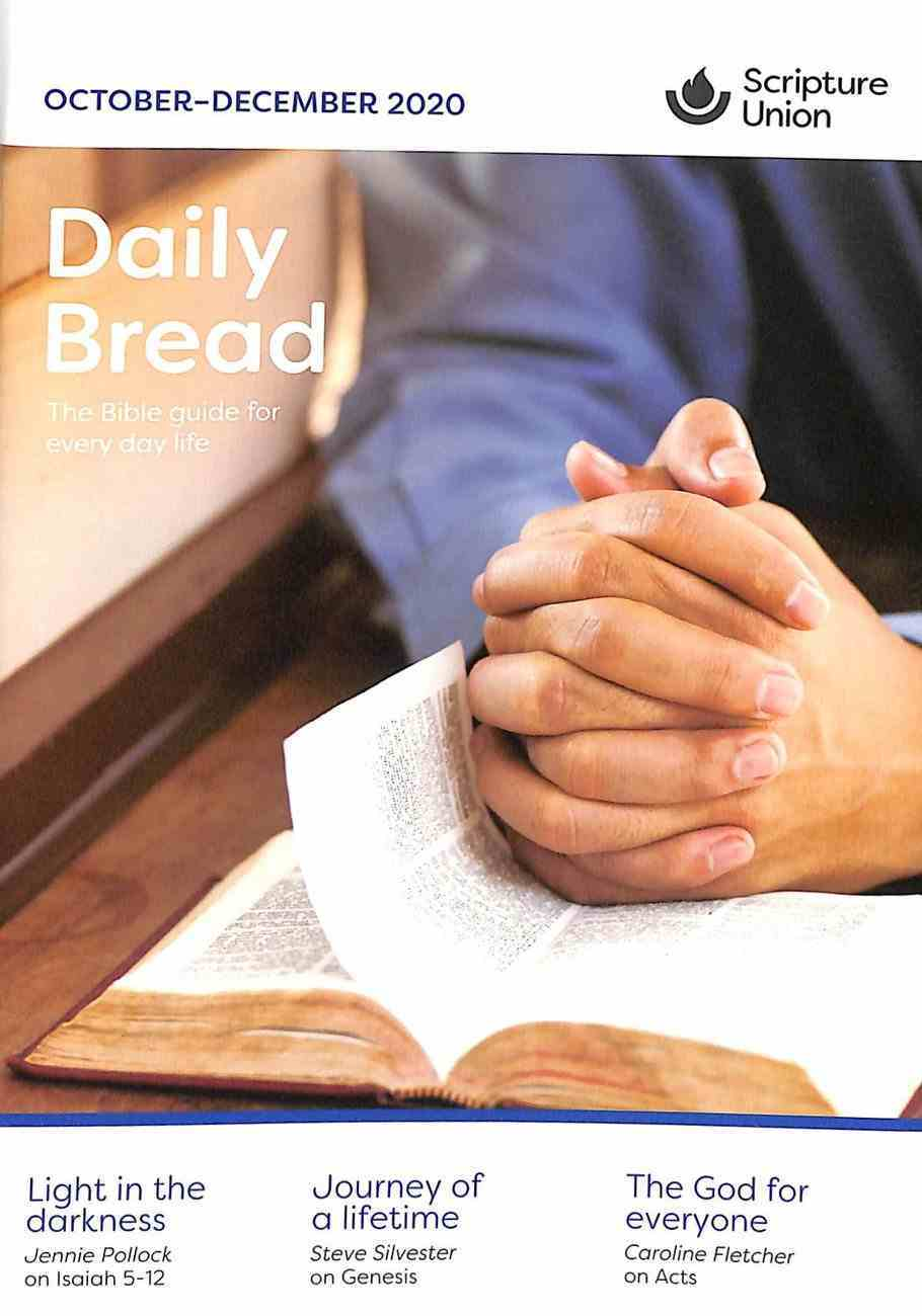 Daily Bread Adults 2020 #04: Oct-Dec Paperback