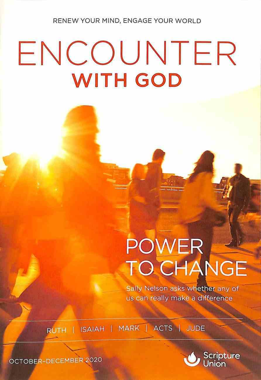 Encounter With God 2020 #04: Oct-Dec Paperback